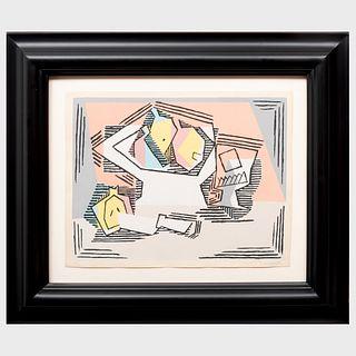 Pablo Picasso (1881-1973): Nature morte aux poires