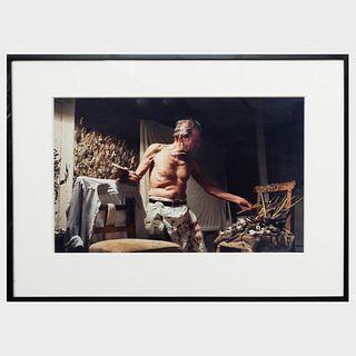 David Dawson (b. 1960): Lucian Freud in His Studio
