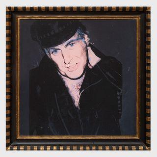 After Andy Warhol (1928-1987): John Richardson