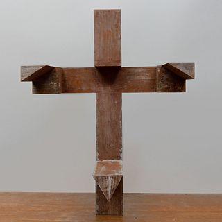 Keith Milow (b. 1945): Cross
