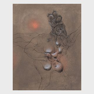 Hans Bellmer (1902-1975): Untitled