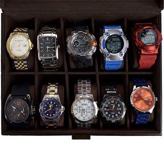 Ten Men's Watches