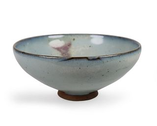 A Large Purple-Splashed 'Jun' Bowl
