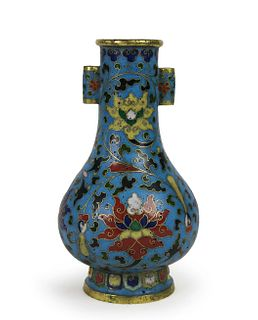 A Cloisonne Enamel Arrow Vase, Jingtai Mark
