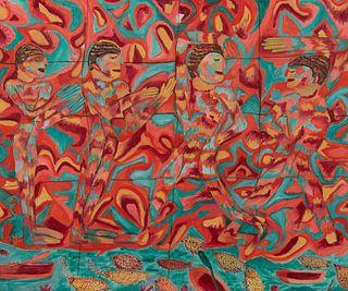Pauline Simon (American, 1898-1976) The Egyptians, c. 1970