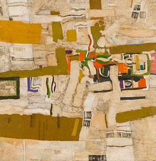 Wolfram Aichele (German, 1924-2016) Untitled, 1967