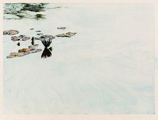 Joseph Raffael (American, b. 1933) Untitled
