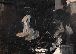 Nicholas Carone (American, 1917-2010) Untitled, 1957
