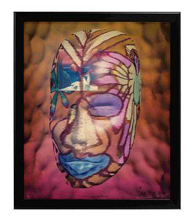 Ed Paschke (American, 1939-2004) No Fumare Por Favor, 1997