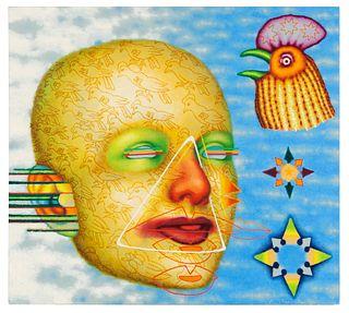 Ed Paschke (American, 1939-2004) Sky Blue, 1994