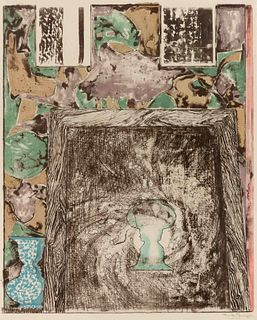 Jasper Johns (American, b. 1930) Untitled, 1992
