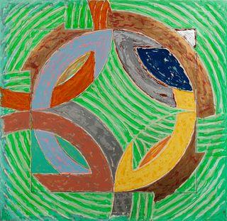 Frank Stella (American, b. 1936) Polar Co-ordinates IV, 1980