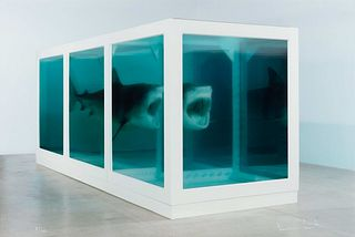 Damien Hirst (British, b. 1965) The Physical Impossibility of Death in the Mind of Someone Living, 2013