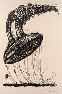 Claes Oldenburg (American, b. 1929) Soft Screw as Balloon Ascending(fromSoft Screws), 1976