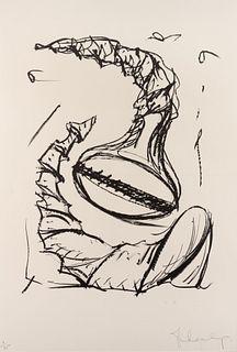 Claes Oldenburg (American, b. 1929) Soft Screws Tumbling #1(fromSoft Screws), 1976