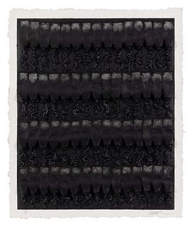 Arman  (American/French, 1928-2005) Untitled, 1990