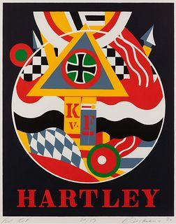 Robert Indiana (American, 1928-2018) Hartley Elegies: For KvF, 1990
