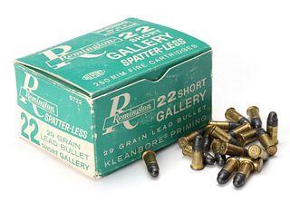 REMINGTON 22 CALIBER SHOOTING GALLERY RIFLE AMMUNITION