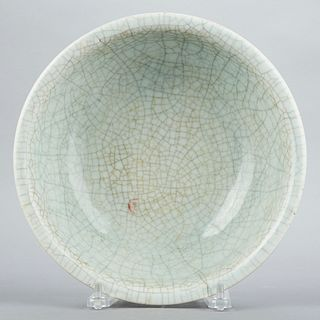 Chinese Qing Guan Ware Ceramic Bowl