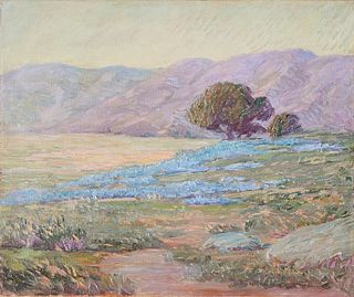 Edwin Dawes California Landscape Oil on Canvas