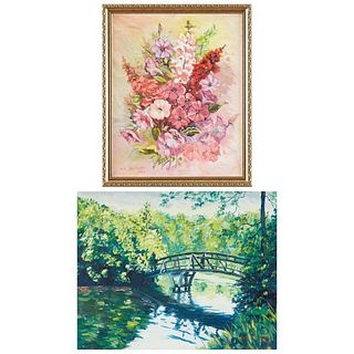 Grp: 2 William Salzman Oil Paintings
