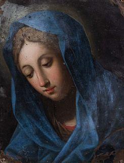 Scuola romana, secolo XVIII - Madonna