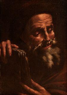 Scuola napoletana, secolo XVII - Democritus and Heraclitus