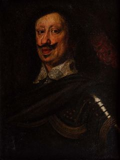 Studio di Justus Susterman  (Anversa 1597 - Firenze 1681) - Half-length portrait of Ferdinand II de 'Medici in armor