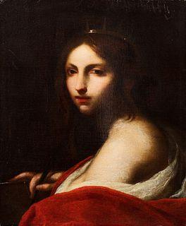 Francesco Furini (Firenze  1603-1646)  - Saint Catherine of Alexandria