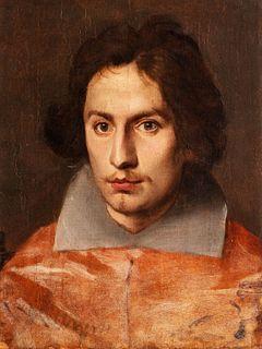 Simone Cantarini (Pesaro 1612 - Verona 1648) - Portrait of Cardinal Antonio Barberini jr