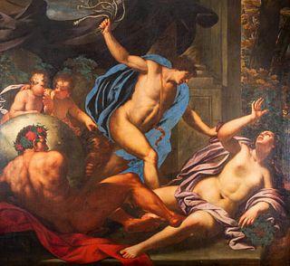 Scuola veneta, seconda metà del secolo XVII - Allegorical scene