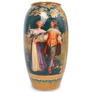 Antique Royal Doulton W. Hodkinson Porcelain Vase