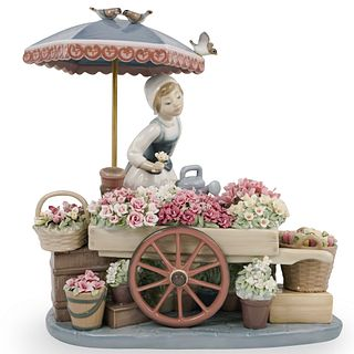 "Lladro ""Flowers of The Season"" Porcelain"