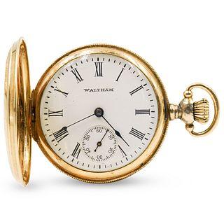 14k Gold Waltham Pocket Watch