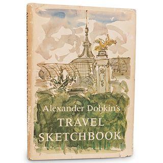 Alexander Dobkin's 1965 Signed Travel Sketchbook