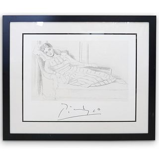 "Pablo Picasso (Spanish 1881-1973) ""Olga Kaklowa"" Lithograph"