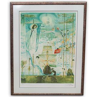 Salvador Dali (Spain, 1904-1989) Lithograph