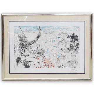 "Salvador Dali (Spain, 1904-1989) ""L'Age d'Or"" Lithograph"