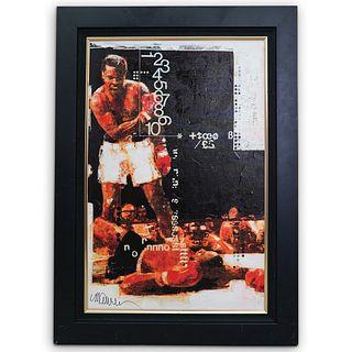 "Sid Maurer ""Muhammad Ali"" Hand Embellished Giclee"