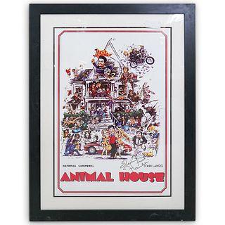 Stephen Furst Signed Animal House Movie Poster