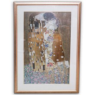 "Gustav Klimt ""The Kiss"" Print"