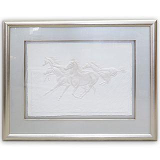 Artist Signed Compressed Paper LithographÂ