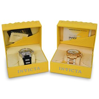 (2 Pc) Set of Invicta Watches
