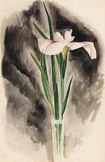 George Copeland Ault (American, 1891-1948) Japanese Iris, 1930