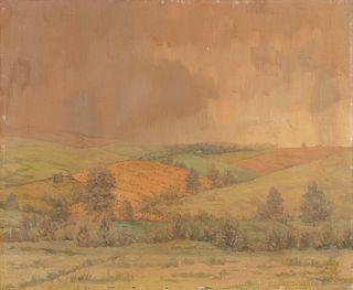 William Anderson Coffin (American, 1855-1925) Spring Rain