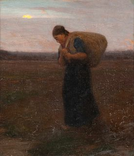 William Morris Hunt (American, 1824-1879) Return from the Fields