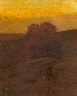 Charles Warren Eaton (American, 1857-1937) Autumnal Gold
