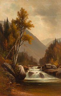 Benjamin Champney (American, 1817-1907) The Ellis River, Pinkham Notch, White Mountains, New Hampshire, 1889