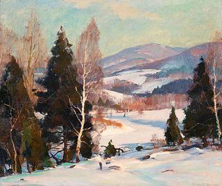 Emile Gruppe (American, 1896-1978) Winter Landscape