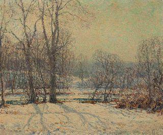 Wilson Henry Irvine (American, 1869-1936) Winter Scene